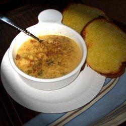 Crock Pot  Ham & Cauliflower Chowder