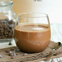 Chocolate Milk Shake or Mocha Milk Shake