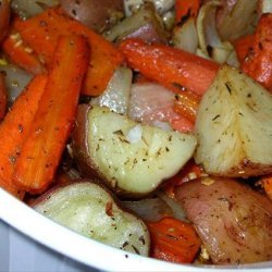 Roasted Vegetables With Thyme recipe