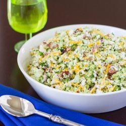 Broccoli Cheese Salad