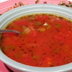 Creole Tomato Soup (Low Fat)