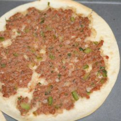 Armenian Pizza - Lahmajoun