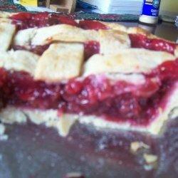Cherry-Red Raspberry Pie