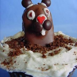 Groundhog Day Cupcakes recipe