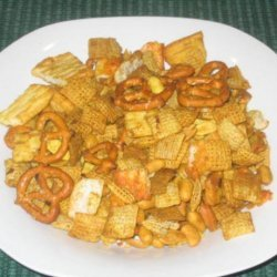 Hot and Zingy Chex Mix