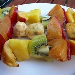 Grilled Fruit Kabobs