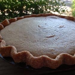 Butter Bean Custard Pie