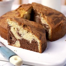 Double Chocolate Marble Cake