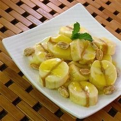 Peanut Butter Bananas and Sauce