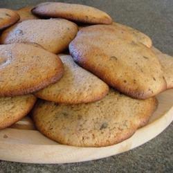 Lemon Chocolate Drop Cookies