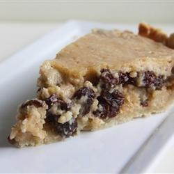 Norwegian Sour Cream and Raisin Pie