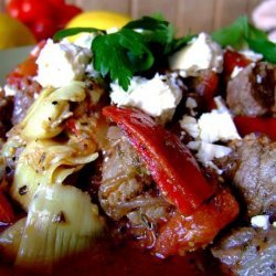 Grecian Lamb With Vegetables