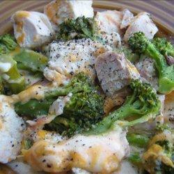 Cheesy Broccoli Bacon Chicken Casserole