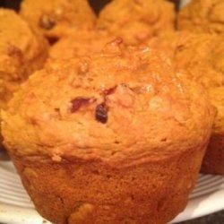 Pumpkin Raisin Muffins Fat Free Dairy Free Egg Free