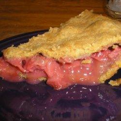 Fresh Strawberry Rhubarb Pie