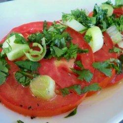 Marinated Tomato Slices (Marinierte Tomaten)