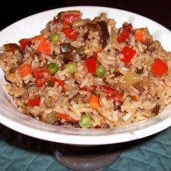 Zippy Brown Rice Pilaf