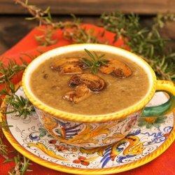 Rosemary Mushroom Soup