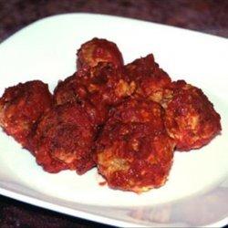 Baked Kofta Balls in Tomato Sauce recipe