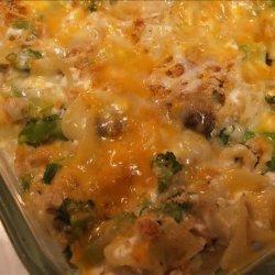 Broccoli Mushroom Noodle Casserole