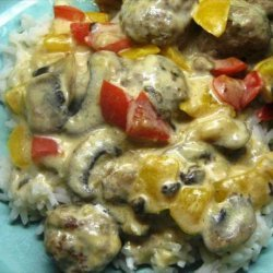 Italian Meatballs With Peppers