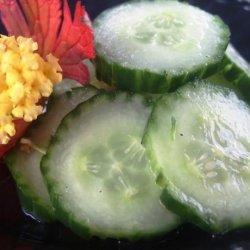 Finnish Cucumber Salad