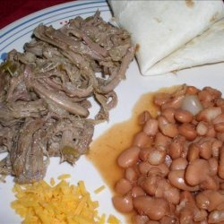Pinto Beans for Make Your Own Burritos