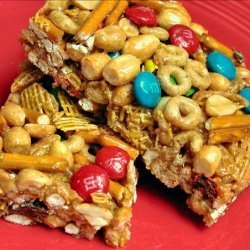 Sweet and Salty Cereal Bars recipe