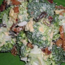 Broccoli, Bacon and Cheese Salad