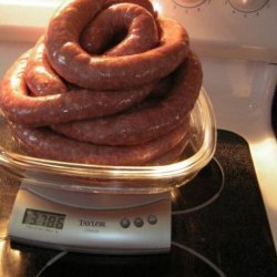 South African Sausage (Boerewors) recipe