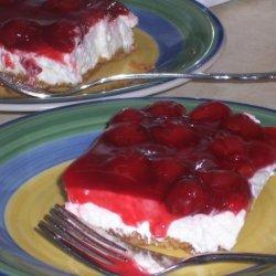 Husband's Blueberry/Cherry Dessert
