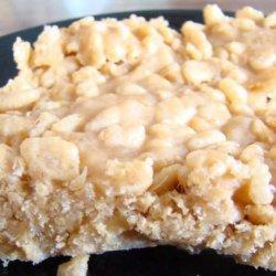 Peanut Butter Krispies Bars