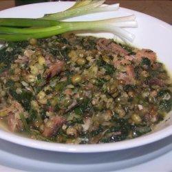 Hearty Whole Mung Bean Soup recipe