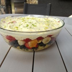 Delicious Layered Fruit Salad