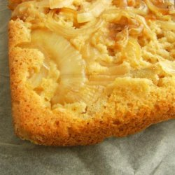 Upside Down Walla Walla Onion Cornbread recipe
