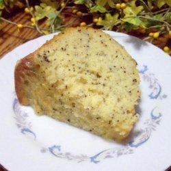 Low Fat Lemon Poppy Seed Cake
