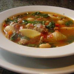 Italian Sausage and Pasta Soup