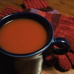 Mrs Claus Christmas Welcome Soup