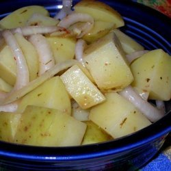 Hot and Fast German Potato Salad