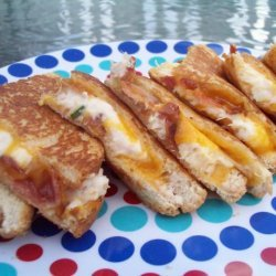 Chicken and Bacon Pan-Fried Sandwich