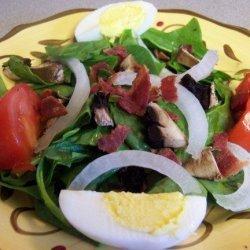 Italian Spinach Salad - Toh