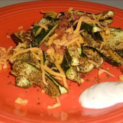 Mexican Zucchini Oven Fries