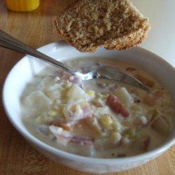 Sassy Potato Corn Chowder