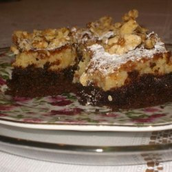 German Chocolate Cream Cheese Brownies