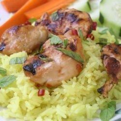 Grilled Sweet Chilli Chicken