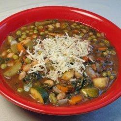 Pesto Vegetable Soup (Crock Pot)
