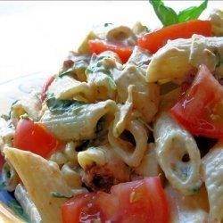 Kitchen Sink Chipotle & Smoked Mozzarella Pasta Salad