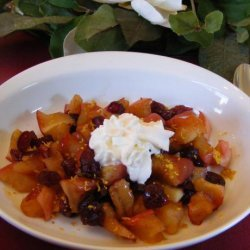 Delicious Baked Cranberry & Apple Breakfast recipe