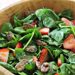 Strawberry and Spinach Salad with Poppy Seed Dressing