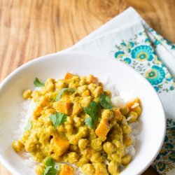 Chickpea Curry for Two